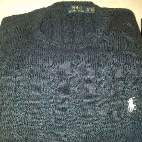 Polo By Ralph Lauren Sweaters Mens Ralph Lauren Polo Cable Knit